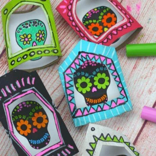 Nicho Boxes Mexican Mothers Day DIY Homemade Crafting Gift Ideas Inspiration How To Make Tutorials Recipes Gifts To Make