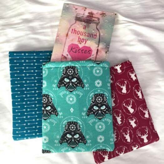 No Sew Booksleeve Sister Mothers Day DIY Homemade Crafting Gift Ideas Inspiration How To Make Tutorials Recipes Gifts To Make