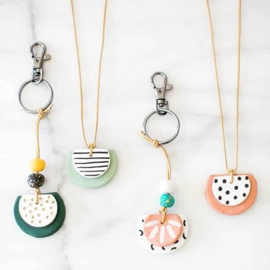 Oil Diffuser Necklace Sister Mothers Day DIY Homemade Crafting Gift Ideas Inspiration How To Make Tutorials Recipes Gifts To Make