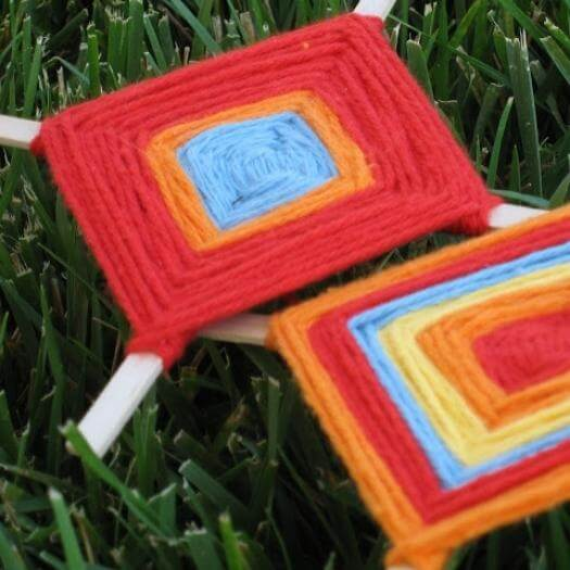 Ojo De Dios Mexican Mothers Day DIY Homemade Crafting Gift Ideas Inspiration How To Make Tutorials Recipes Gifts To Make