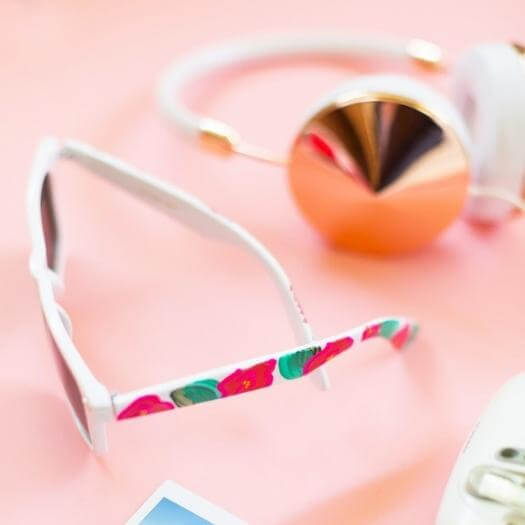 Painted Sunglasses Cheap Affordable Mothers Day DIY Homemade Crafting Gift Ideas Inspiration How To Make Tutorials Recipes Gifts To Make