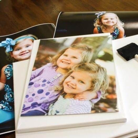 Photo Canvas Personalized Mothers Day DIY Homemade Crafting Gift Ideas Inspiration How To Make Tutorials Recipes Gifts To Make