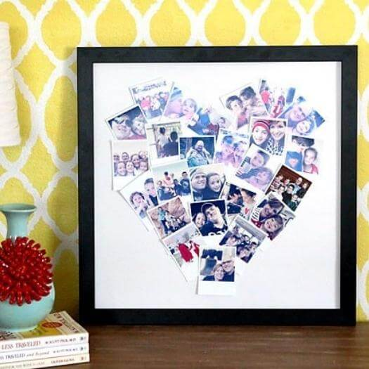 Photo Collage Personalized Mothers Day DIY Homemade Crafting Gift Ideas Inspiration How To Make Tutorials Recipes Gifts To Make