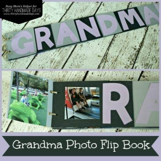 Photo Flip Book Easy Last Minute Mothers Day DIY Homemade Crafting Gift Ideas Inspiration How To Make Tutorials Recipes Gifts To Make