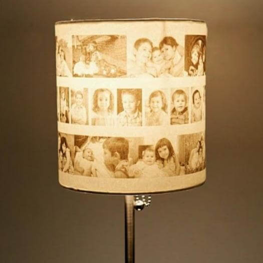 Photo Lamp Personalized Mothers Day DIY Homemade Crafting Gift Ideas Inspiration How To Make Tutorials Recipes Gifts To Make