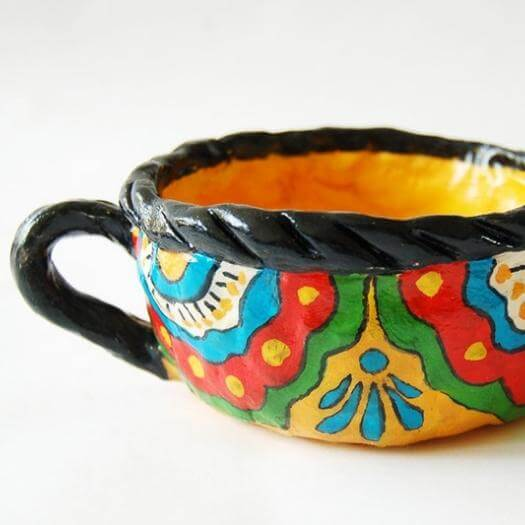 Pinch Pots Mexican Mothers Day DIY Homemade Crafting Gift Ideas Inspiration How To Make Tutorials Recipes Gifts To Make