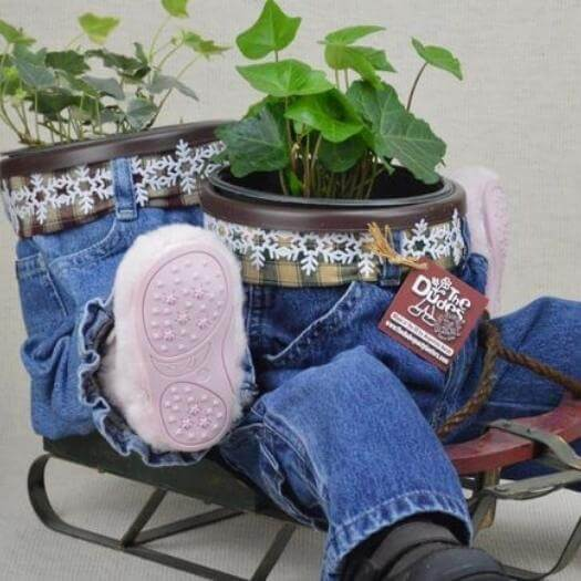 Plants In Pants Funny Mothers Day DIY Homemade Crafting Gift Ideas Inspiration How To Make Tutorials Recipes Gifts To Make