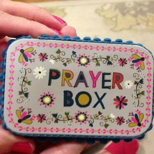 Prayer Box Personalized Mothers Day DIY Homemade Crafting Gift Ideas Inspiration How To Make Tutorials Recipes Gifts To Make