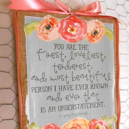 Printable Canvas Cheap Affordable Mothers Day DIY Homemade Crafting Gift Ideas Inspiration How To Make Tutorials Recipes Gifts To Make