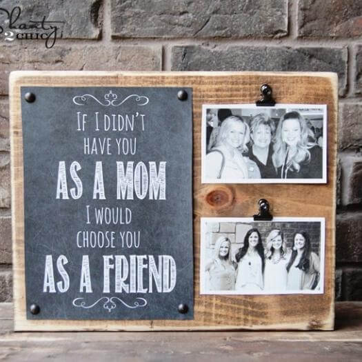 Printable Mom Gift Best Mothers Day DIY Homemade Crafting Gift Ideas Inspiration How To Make Tutorials Recipes Gifts To Make