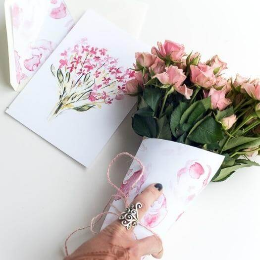 Printable Mother's Day Card Cheap Affordable Mothers Day DIY Homemade Crafting Gift Ideas Inspiration How To Make Tutorials Recipes Gifts To Make