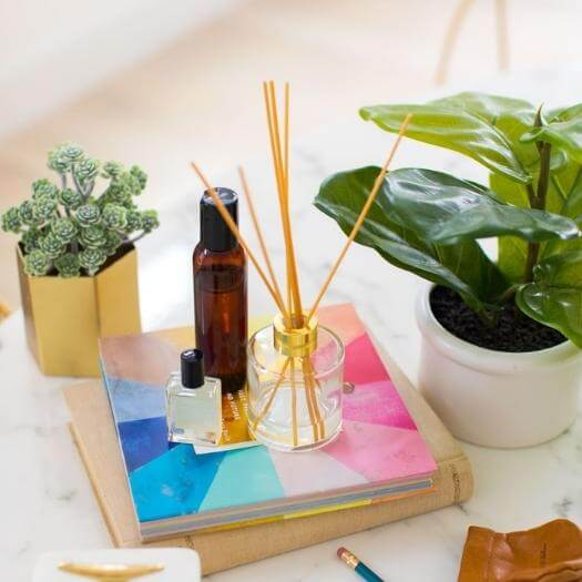 Reed Diffuser Best Mothers Day DIY Homemade Crafting Gift Ideas Inspiration How To Make Tutorials Recipes Gifts To Make