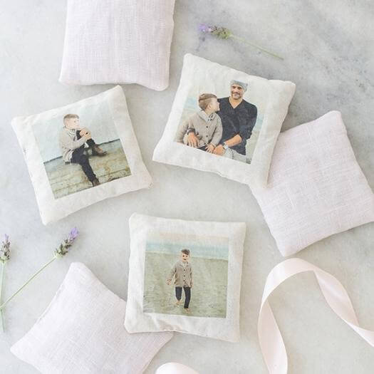 Sachets With Photos Best Mothers Day DIY Homemade Crafting Gift Ideas Inspiration How To Make Tutorials Recipes Gifts To Make