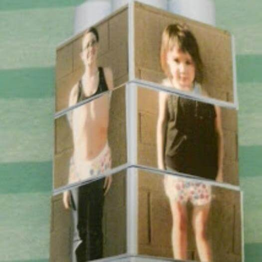 Silly Picture Puzzle Blocks Funny Mothers Day DIY Homemade Crafting Gift Ideas Inspiration How To Make Tutorials Recipes Gifts To Make