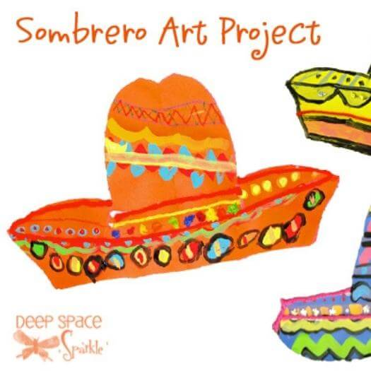 Sombrero & Poncho Mexican Mothers Day DIY Homemade Crafting Gift Ideas Inspiration How To Make Tutorials Recipes Gifts To Make