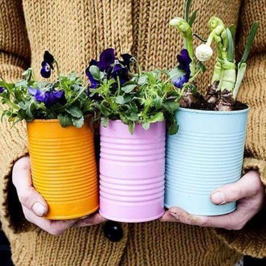 Spring Cans Cheap Affordable Mothers Day DIY Homemade Crafting Gift Ideas Inspiration How To Make Tutorials Recipes Gifts To Make