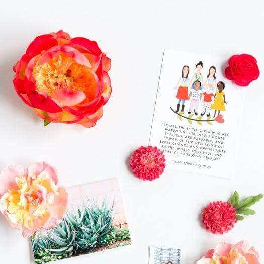 Spring Flower Magnets Cheap Affordable Mothers Day DIY Homemade Crafting Gift Ideas Inspiration How To Make Tutorials Recipes Gifts To Make