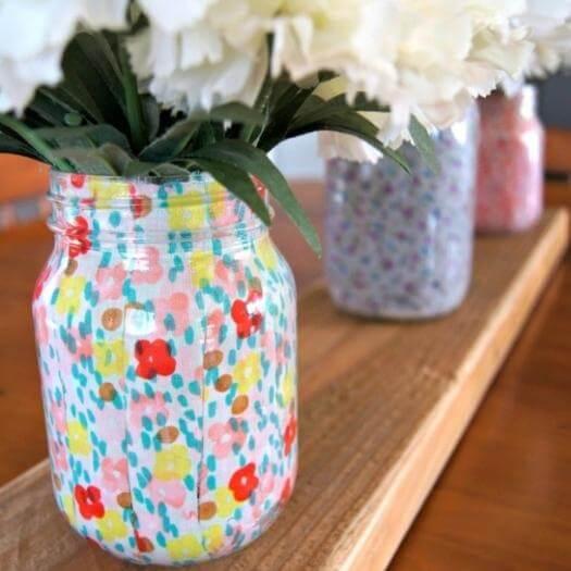 Spring Mason Jars Grandma Mothers Day DIY Homemade Crafting Gift Ideas Inspiration How To Make Tutorials Recipes Gifts To Make