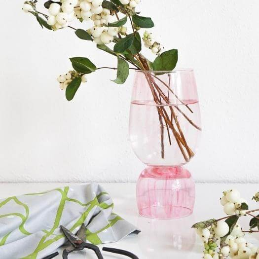 Stacked Vases Unique Mothers Day DIY Homemade Crafting Gift Ideas Inspiration How To Make Tutorials Recipes Gifts To Make