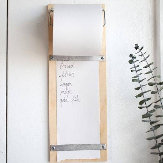 Tearaway Shopping List Unique Mothers Day DIY Homemade Crafting Gift Ideas Inspiration How To Make Tutorials Recipes Gifts To Make