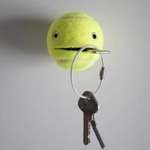 Tennis Ball Helper Funny Mothers Day DIY Homemade Crafting Gift Ideas Inspiration How To Make Tutorials Recipes Gifts To Make