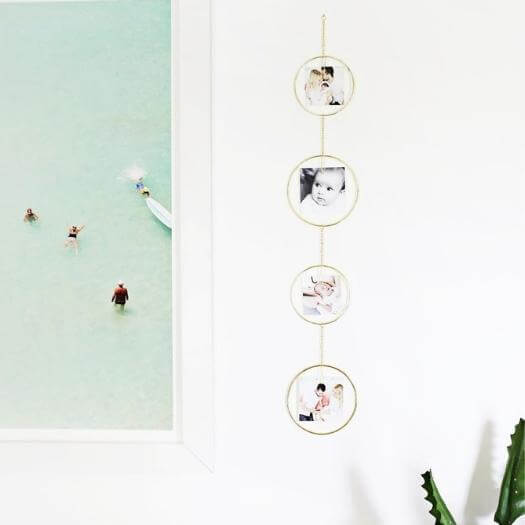 Vertical Photo Displays Best Mothers Day DIY Homemade Crafting Gift Ideas Inspiration How To Make Tutorials Recipes Gifts To Make