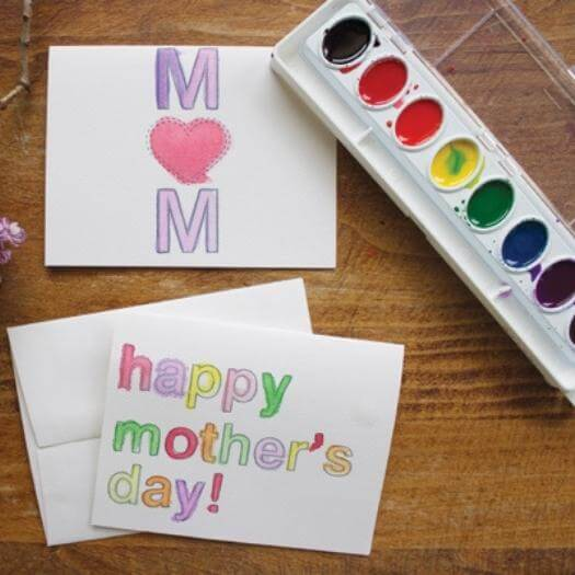 Watercolor Printables Cheap Affordable Mothers Day DIY Homemade Crafting Gift Ideas Inspiration How To Make Tutorials Recipes Gifts To Make