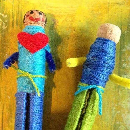 Worry Doll Mexican Mothers Day DIY Homemade Crafting Gift Ideas Inspiration How To Make Tutorials Recipes Gifts To Make
